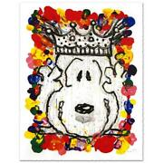Everhart Best In Show Signed Limited Edition Peanuts Lithograph Coa