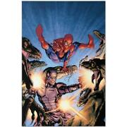 Marvel Comics Limited Edition Heroes For Hire 3 Numbered Canvas Art