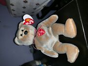 1999 Signature Bear Ty Beanie Baby In Mint Condition