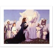 Greg And Tim Hildebrandt The Return Of The King Signed Limited Edition Giclee