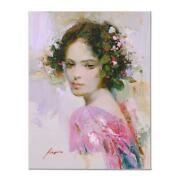 Pino Lily Ap Artist Embellished Limited Edition On Canvas Coa