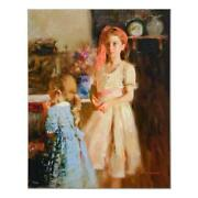 Pino Best Friends Ap Artist Embellished Limited Edition On Canvas Coa