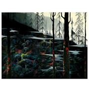 Eyvind Earle Dawns First Light Hand-signed Limited Edition Serigraph Coa