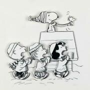 Peanuts Caroling Crew Hand Numbered Limited Edition 3d Decoupage Coa