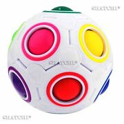 10 Fidget Ball Rainbow Magic Puzzle Autism Fun Toys Stress Relief Gifts Cube