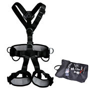 Full Body Safety Harness Fall Protection Climbing Construction Roofing Equipment