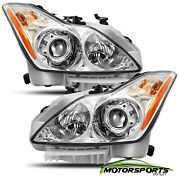 For 2008-2015 Infiniti G37/q60 Coupe Factory Style Chrome Headlights Pair