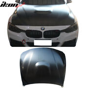 Fits 12-20 Bmw F30 F31 F32 F33 F36 M4 Type Front Hood Bonnet Vent Air Duct-steel