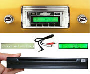 1947-1953 Chevy Truck Radio + Single Disc Cd Changer + Usb + Aux Stereo 630