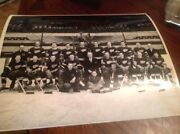 Detroit Red Wings 1944-45 Nhl Hockey Team Photo Tigers Lions Cougars Pistons