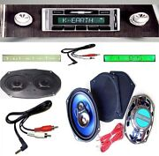 1966 Impala / Caprice Radio + Stereo Dash Replacement Speaker + 6x9and039s 630 W/ Ac