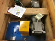 New In Crate Sew Eurodrive 5hp Motor And Angled Reducer Unit On Skid With Ts4 Pla