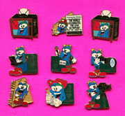 1996 Atlanta Olympic Izzy Media Pins Buy 1 2 3 0r All Pins Add To Cart