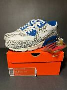 Ds New 2007 Nike Air Max 90 Premium Hufquake Size 10.5 Qs Undefeated Kid Atmos
