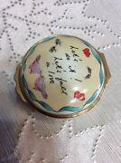 Halcyon Days Enamel Box Letand039s Do It Letand039s Fall In Love Word Music By Cole Port