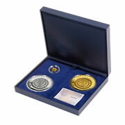 Espana Spain 2009 Collections 2nd Series Numismatic Treasures Silver Gold Cooin