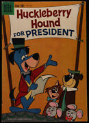 Huckleberry Hound 1959 Series Dell 1 Fc 1141 Very Good Comics Book