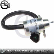 New Shut Off Solenoid Valve 41-6383 Sa-4920 12v For Yanmar Thermo King Engine