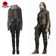 Dfym Newest Rogue One A Star Wars Story Jyn Erso Cosplay Costume Outfit Any Size