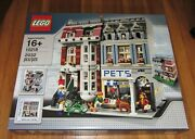 Lego Sealed 10218 Creator Pet Shop City Modular House Grocery Store Apartment