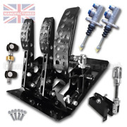 Fits Bmw E46 Floor Mounted Cable Pedal Box Kit Andndash 3-pedal Ap Cylinders [std