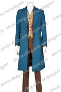 Fantastic Beasts And Where To Find Them Newt Scamander Cosplay Costume Suit