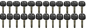20 New Toyota Replacement Uncut Transponder 4d Chip Key - With Logo
