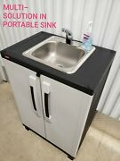 Portable Sink Self Contained Hot And Cold Water With Automatic Sensor 110v