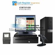 Pcamerica Cre Cash Register Express Retail Pos - Scandata Compatible Included