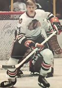 Keith Magnuson-chicago Blackhawks Signed Front And Back Magazine Pictures 1970s