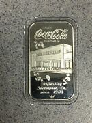 Coca Cola Shreveport Indiana Sterling Silver Bar 75th Anniversary