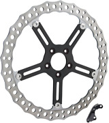 Arlen Ness 02-995 Jagged Rotors Harley Dyna Fxd 06-
