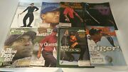 Tiger Woods Sports Illustrated Lot Of 8 Early Years With Rookie Rc 1st Issue