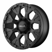 Helo He878 17x9 Wheels Rims 35 Mxt Mt Tires Package 6x135 Ford F150 6 Lug
