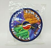 Official Pepsi Embroidered Patch Guitar Drum Music Notes Round Advertise 4 Euc