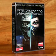 Dishonored 2 Preorder Box Includes A T-shirt Ps4 Xbox One Collectible No Game