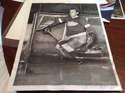 Johnny Mowers 1940 Detroit Red Wings Nhl Hockey Photo Tigers Lions Michigan