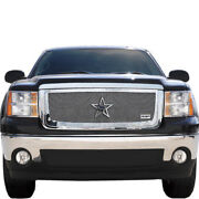 For 2007-2013 Gmc Sierra 1500 Rbp Rx-1 Chrome T304 Stainless Steel Grille Grill