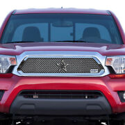 For 2012-2014 Toyota Tacoma Rbp Rx-1 Chrome T304 Stainless Steel Grille Grill