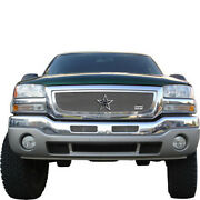 For 2003-2006 Gmc Sierra Rbp Rx-1 Chrome T304 Stainless Steel Grille Grill