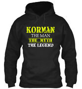 Korman The Man Gildan Hoodie Sweatshirt