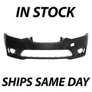 New Primered - Front Bumper Cover Replacement For 2016-2019 Nissan Sentra 16-19