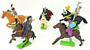 Deetail '71 England Miniature Toy Mixed Figure Lot Military Knights Horse Lot 5