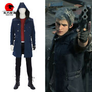 Dfym Devil May Cry Cosplay Dmc 5 Nero Costume Halloween Outfit Game Suit Jacket