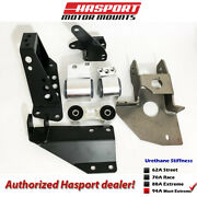 Hasport Mounts Ef Dual Height K-series Swap Kit For 1988-1991 Civic/crx Efk5-94a