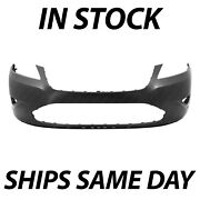 New Primered - Front Bumper Cover For 2010-2012 Ford Taurus Se Sel Limited Sho