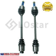 Pair2 Front Left And Right Cv Axle Assembly Fits Subaru Legacy Forester Impreza