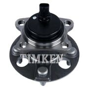 For Toyota Yaris 15-18 Timken Rear Driver Side Wheel Bearing And Hub Assembly