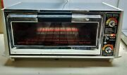 General Electric Deluxe Toaster-r-oven Model A2t131b Stainless Steel Bake Grill