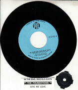 The Foundations In The Bad, Bad Old Days 7 45 Rpm Record New + Juke Box Strip